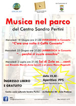 pertini musica parco estate